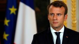 Macron stellt Ideen zur EU-Reform vor