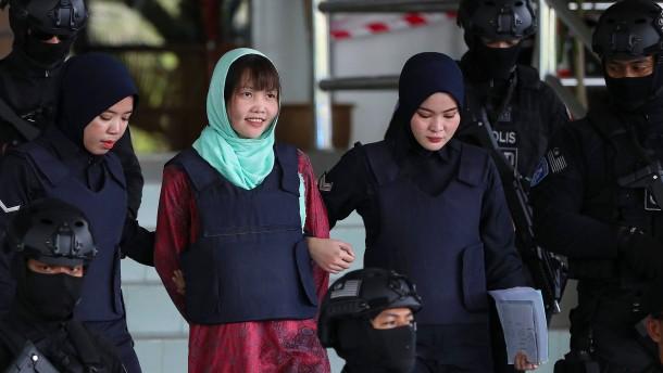 Keine Todesstrafe für Kim-Attentäterin