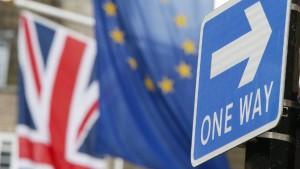 Britische Regierung sucht Tausende Mitarbeiter für Brexit-Vorbereitung