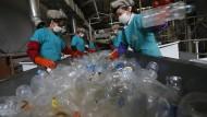 Recycling-Fabrik in China