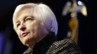 Steht vor einer kniffligen Entscheidung: Fed-Chefin Janet Yellen