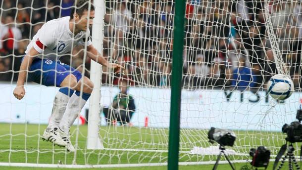 England schlägt den Weltmeister