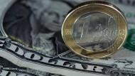 Der Euro im Höhenflug