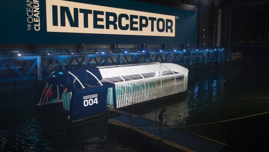 """""""Ocean Cleanup Interceptor"""" soll Plastikmüll einsammeln"""