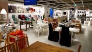 Große Auswahl: Ikea--Geschäft in der Nähe von Düsseldorf.