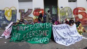 Polizei räumt besetztes Haus in Berlin