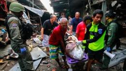 Tote bei Explosion auf thailändischem Markt