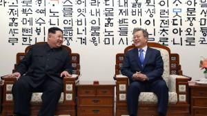 Annäherung in Korea