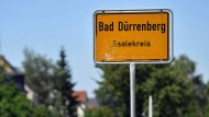 Bad Dürrenberg in Sachsen-Anhalt: Hier wurde im Juni ein Verdächtiger gefasst, der die Terroranschläge von Paris unterstützt haben soll.