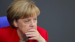 Die unsichere Zukunft der Angela Merkel