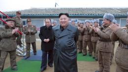 """Nordkorea meldet """"sehr wichtigen Test"""""""