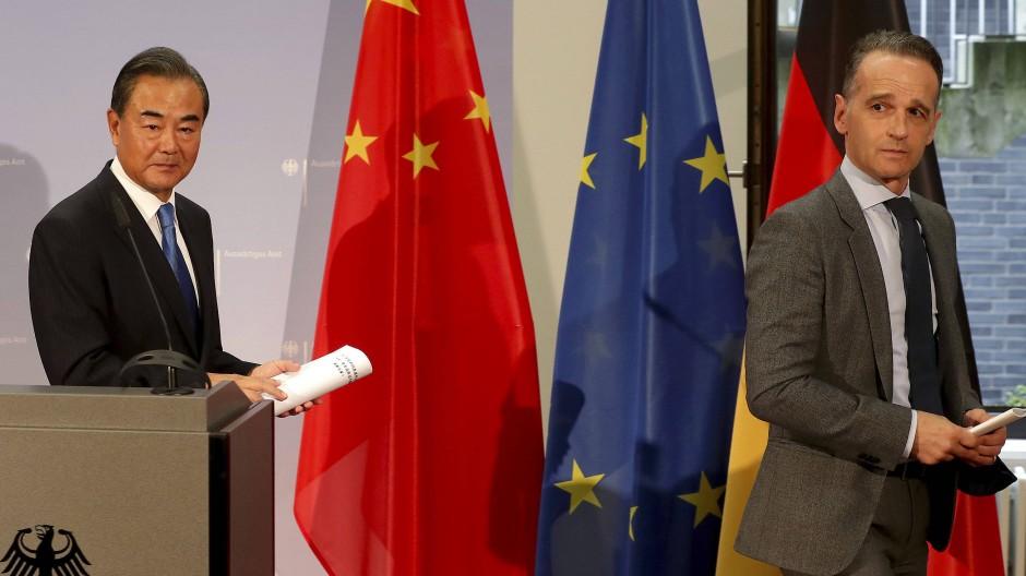 Maas fordert Zugeständnisse von China