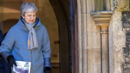 Sagt May weitere Abstimmung über Brexit-Vertrag ab?