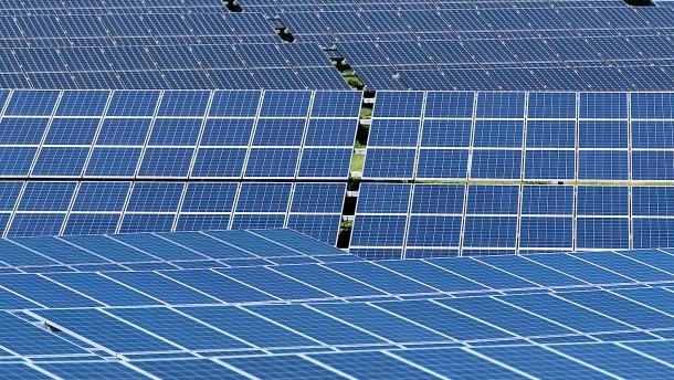 Solarmodul statt Weizen