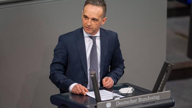 """Maas warnt vor """"abgebrochenen Brücken"""""""