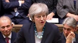 May strebt Nachverhandlungen mit Brüssel an