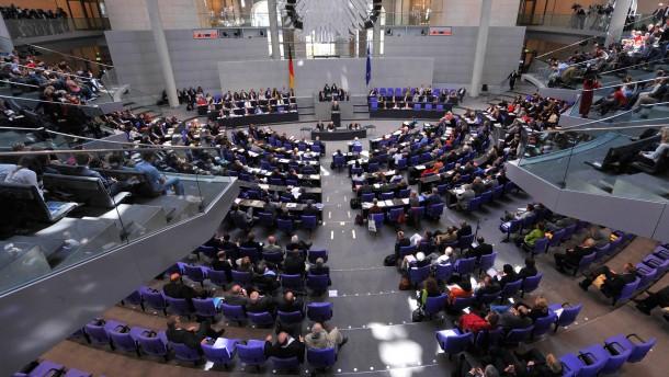 Vorschau: Bundesverfassungsgericht entscheidet ueber Verletzung von Bundestags-Rechten