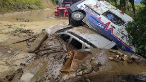Überschwemmungen und Erdrutsche in Kolumbien