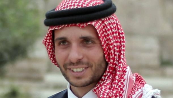 Prinz Hamza bekräftigt seine Loyalität zu Abdullah II.