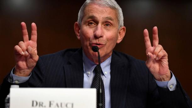 "Trump-Berater Fauci fordert ""Reset"" im Kampf gegen Corona"