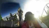 Achterbahnfahrt im Europa-Park mit VR-Brille