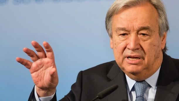 Guterres warnt vor Erstarken des Terrors durch Corona-Pandemie
