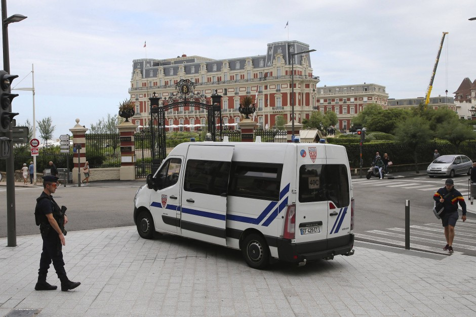 Um die Sicherheit der Gipfel-Teilnehmer zu gewährleisten, wird die Innenstadt großräumig abgeriegelt und kontrolliert.
