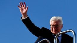 Bundespräsident Steinmeier nach Kalifornien abgeflogen
