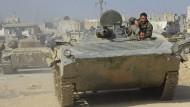 Syrien erhöht militärischen Druck