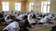 Schulunterricht in Afghanistan