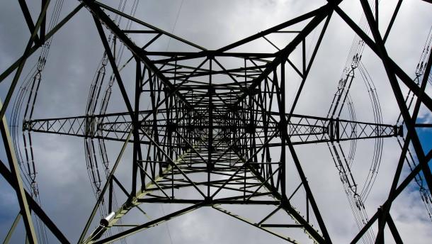 Breite Front gegen digitale Stromzähler