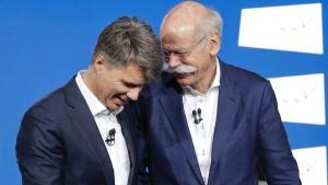 Erste Misstöne zwischen BMW und Daimler