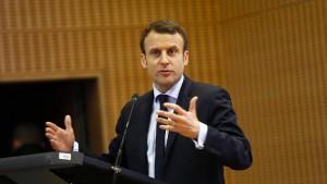 Französische Justiz ermittelt gegen Macron