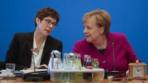 Machtkampf um den CDU-Vorsitz