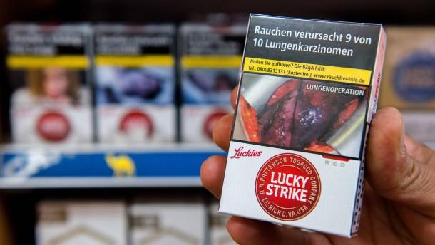 Schockbilder schrecken junge Nichtraucher ab