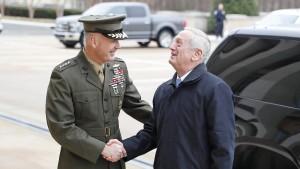 Trumps Verteidigungsminister nennt Beziehung zur Nato unerschütterlich