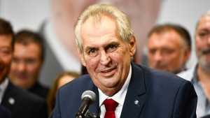 Tschechischer Präsident sympathisiert mit rechten Demonstranten