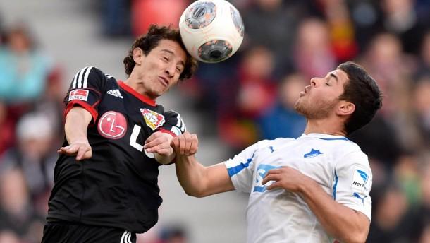 Leverkusen rutscht immer tiefer in die Krise