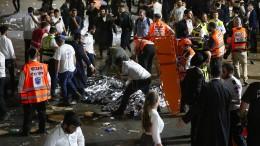 Mindestens 44 Tote bei Massenpanik auf jüdischem Fest
