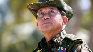 """Sanktionen wegen """"ethnischer Säuberung"""" in Burma"""