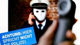 Netzwerk falscher Polizisten aufgeflogen