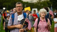 Demonstration am Kapitol: Mini-Marsch statt neuer Gewaltexzesse