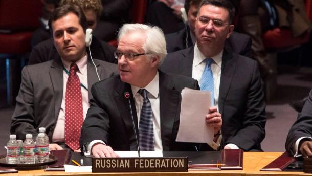 Russland legt Veto gegen Krim-Resolution ein