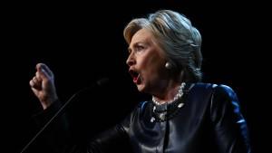 Clinton: Trumps Worte sind frauenverachtend