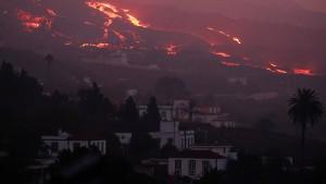 Deutscher Rentner flüchtet vor Vulkanausbruch auf La Palma