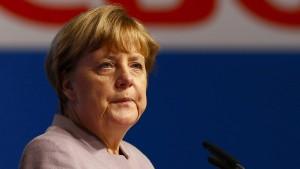 "Merkel ""traurig"" über Ausgang des Referendums in Italien"
