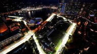 Ein leuchtendes Spektakel: Das Nachtrennen in Singapur.