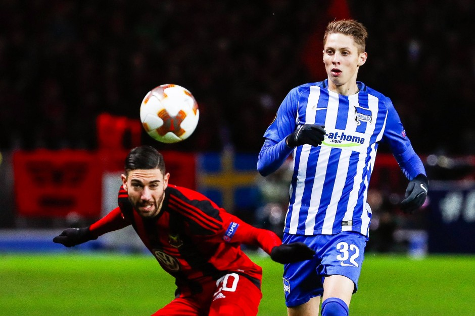 Hertha BSC spielt konzentriert und trifft, aber auch Östersund macht ein Tor.
