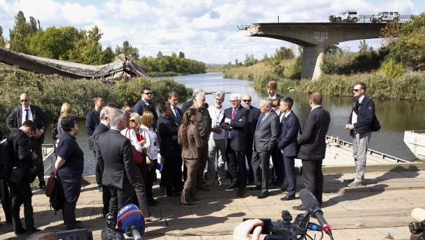 Kiew kritisiert Steinmeier