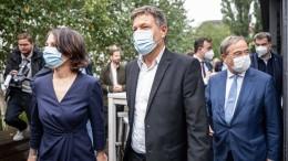 Union will Gespräche fortsetzen - Grüne zurückhaltend